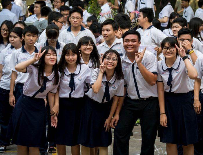 Số lượng thí sinh dự thi lên cấp III năm 2018 gia tăng đáng kể