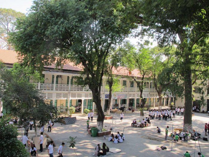 Trước khi vào cấp 3, bạn nên tìm hiểu khuôn viên của ngôi trường mới trước khi nhập học