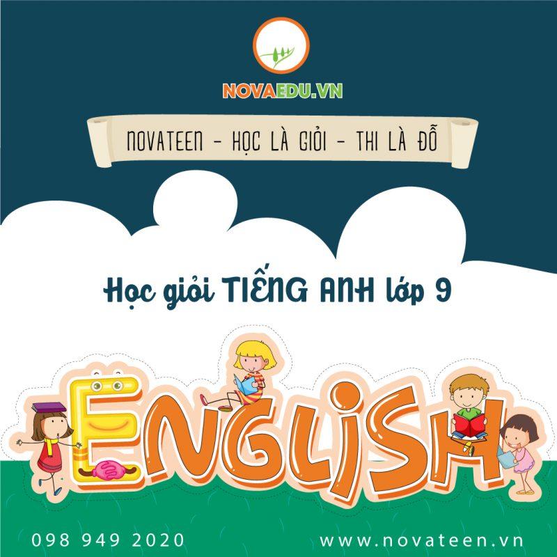 Học giỏi môn tiếng anh lớp 9 cng Novateen