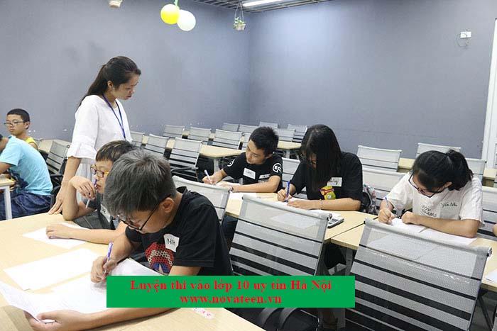 Novateen - trung tâm luyện thi vào 10 hiệu quả, chất lượng.