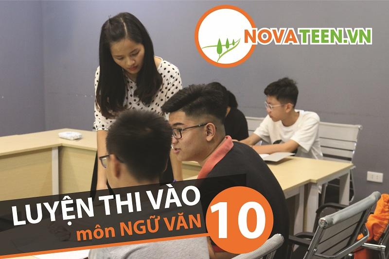Novateen - luyện thi vào lớp 10 môn ngữ Văn uy tín tại Hà Nội