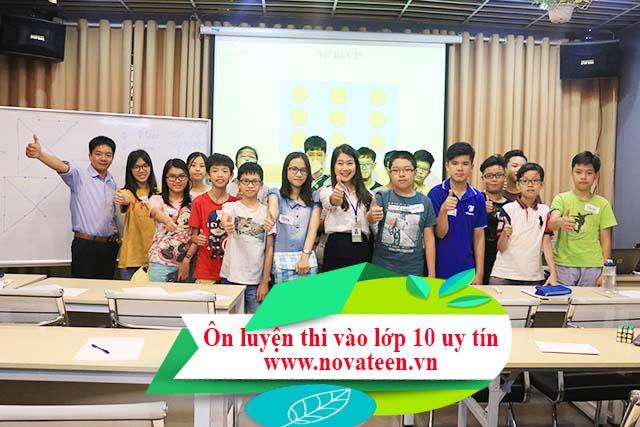 Novateen sẽ giúp con bạn luyện thi hiệu quả vào lớp 10