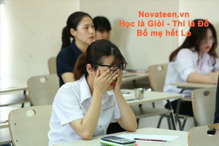 áp lực ôn thi vào lớp 10
