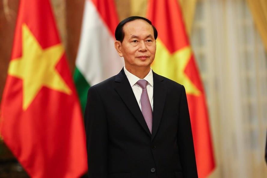 Chủ tịch nước Việt Nam Trần Đại Quang
