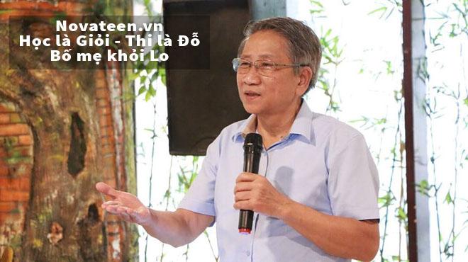 Giáo sư Nguyễn Minh Thuyết chia sẻ về chương tình giáo dục phổ thông sẽ bắt đầu áp dụng từ năm học 2019-2020
