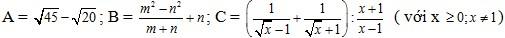 Rút gọn biểu thức - dạng bài toán hay thi vào 10