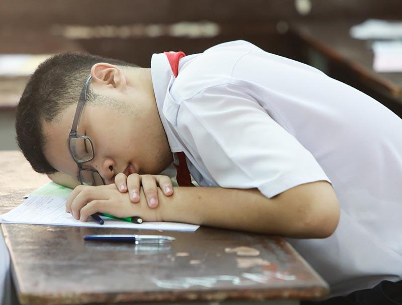 Con thoải mái về tâm lý mới có thể thi đỗ lớp 10 trường chuyên