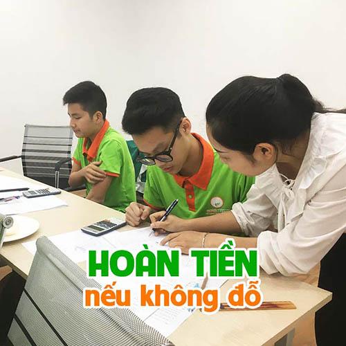 Chương trình giáo dục Cam kết đỗ vào 10 của NovaTeen - Hoàn tiền nếu không đỗ