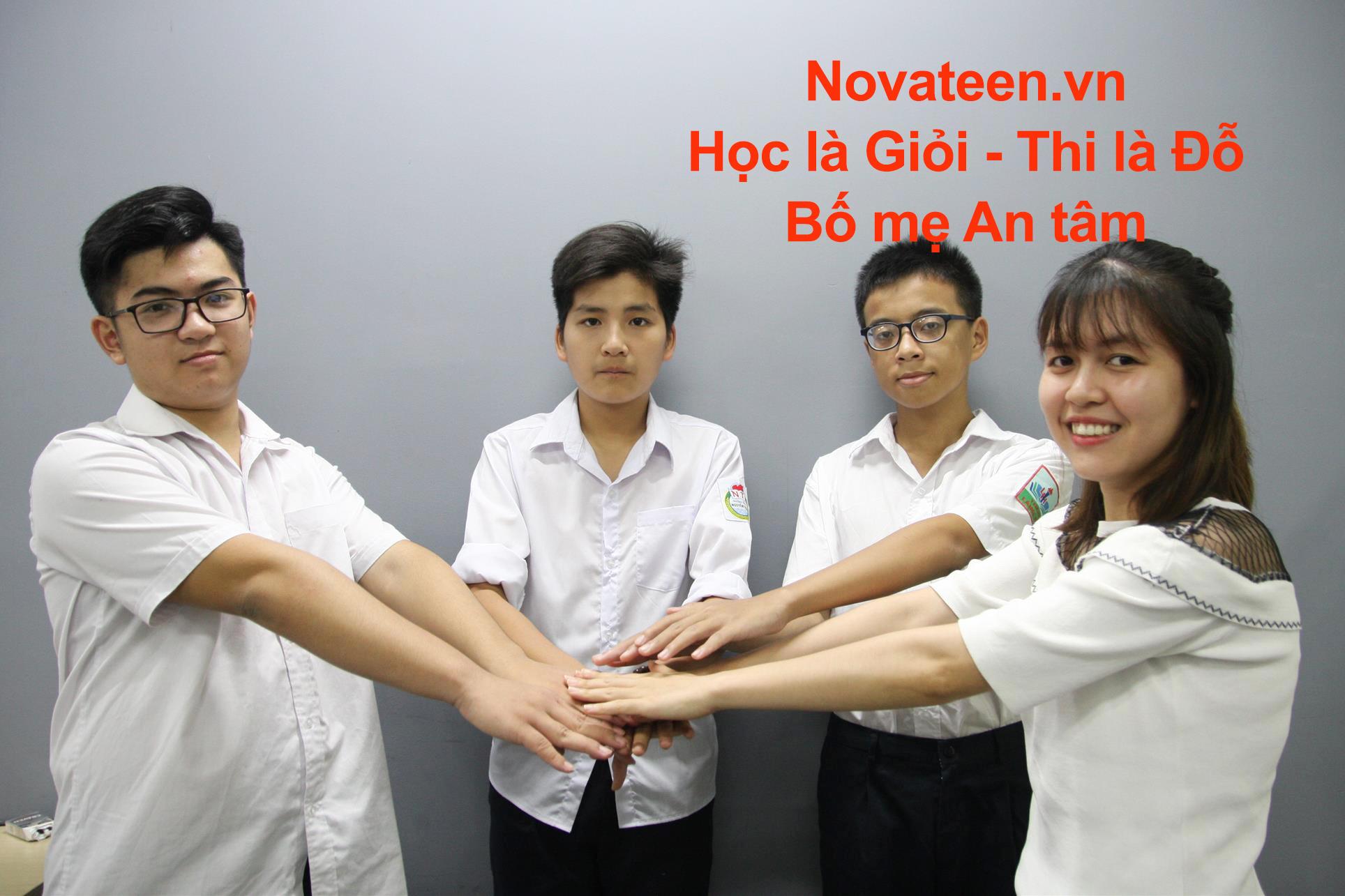 Đến Novateen sẽ Học giỏi thi Tài