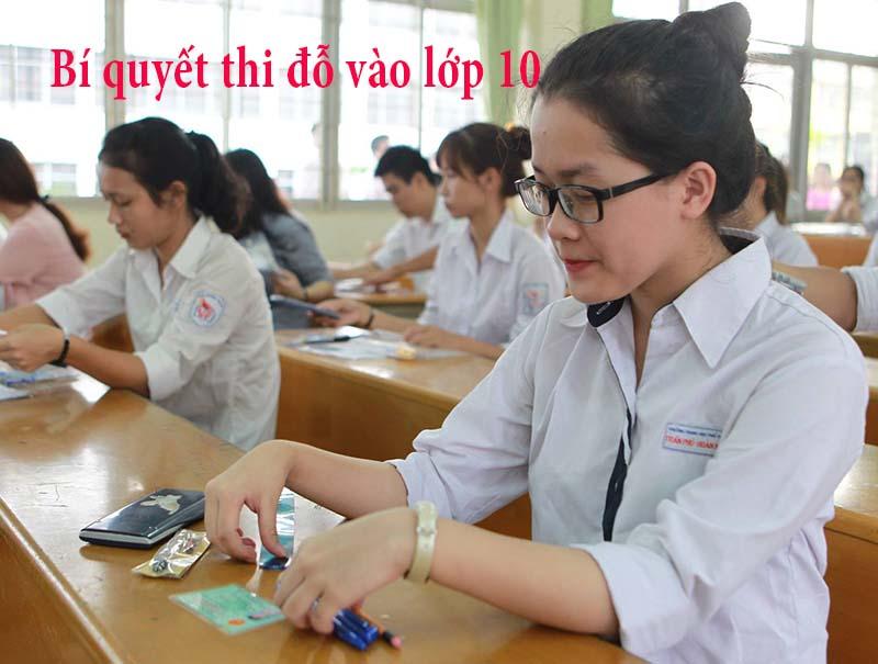 Xét tuyển vào lớp 10 sẽ giảm bớt áp lực cho học sinh
