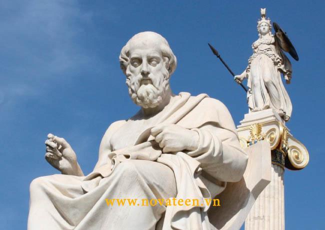 Platon - nhà triết học kiêm nhà toán học nổi tiếng