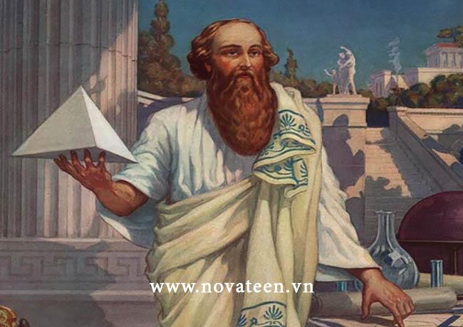 Pitago nhà toán học nối tiếng người Hy Lạp