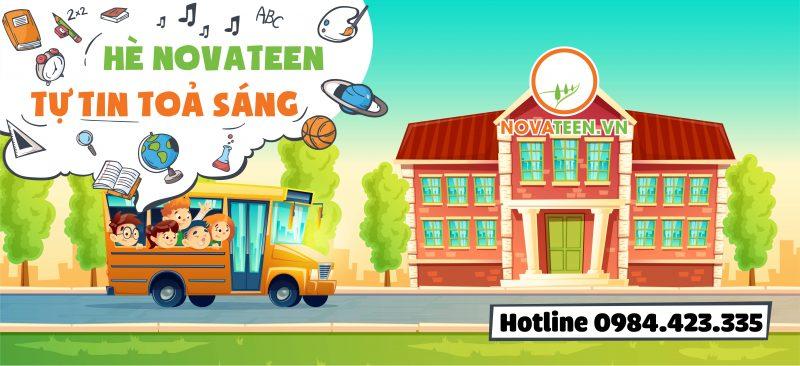 """Chương trình hè bán trú tại Novateen giúp con bạn """"tự tin tỏa sáng""""."""