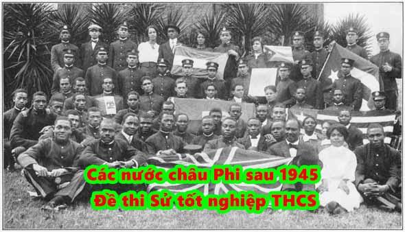 phong trào giải phóng dân tộc ở châu Phi nổ ra