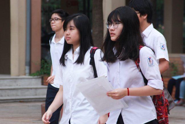 Kỳ thi vào 10 THPT công lập 2019 ở Hà Nội.
