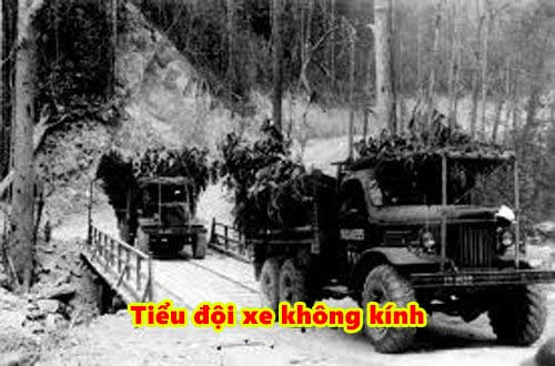 Tiểu đội xe không kinh trong chiến tranh chống Mỹ cứu nước