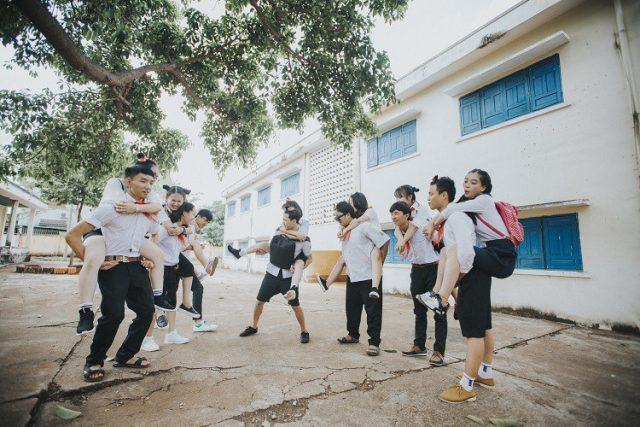 Trường học là địa điểm chụp ảnh kỷ yếu không thể bỏ qua.