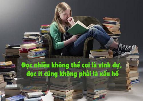 Đọc nhiều không kỹ không bằng đọc ít mà kỹ