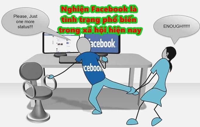 Nghiện Facebook đang diễn ra khá nghiêm trọng