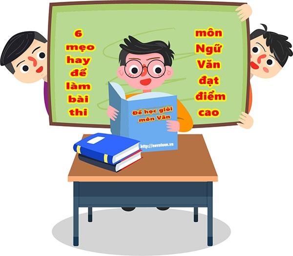 Để học giỏi môn ngữ văn