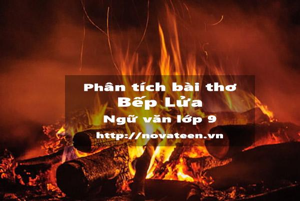 Phân tích bài thơ Bếp lửa tác giả Bằng Việt