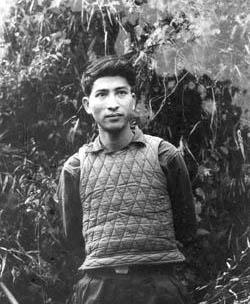 Nhà thơ Phạm Tiến Duật hồi còn trẻ