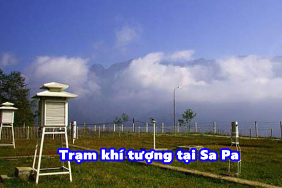 Trạm khí tượng tại Sa Pa